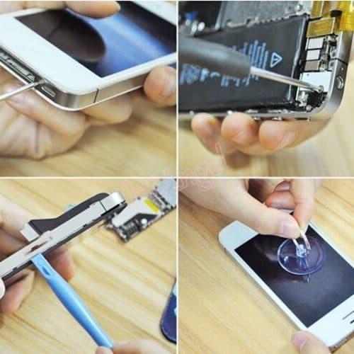 Набор инструментов для ремонта мобильных телефонов iPhone, Samsung и других