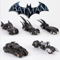 Набор из 5 шт. моделей бэтмобилей