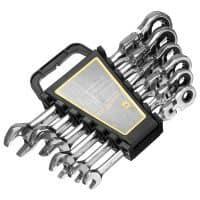 Набор из 6 шт. комбинированных гаечных ключей с трещоткой