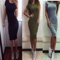Топ 12 самых покупаемых платьев на Алиэкспресс в России 2017 - место 8 - фото 1