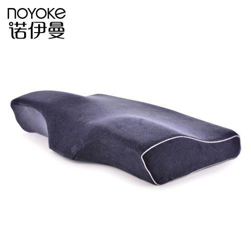 Ортопедическая черная бамбуковая подушка с эффектом памяти NOYOKE