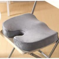 Ортопедическая подушка под ягодицы для сидения на стул с эффектом памяти