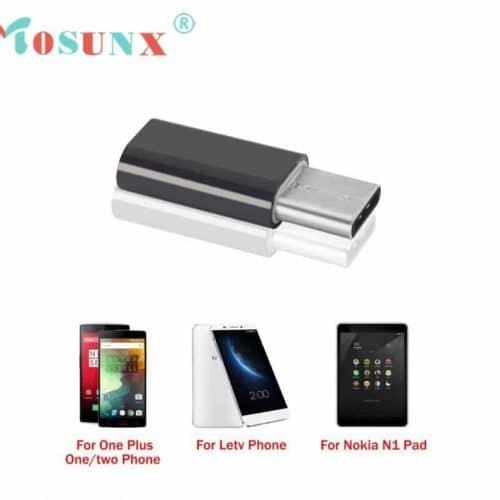 Переходник с micro-USB на USB type-c