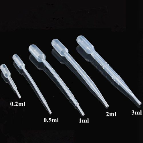 Пластиковые градуированные пипетки для мыловарения в домашних условиях
