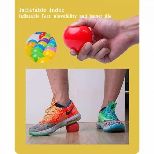 Пластиковые игровые шары-мячики в манеж, бассейн для детей