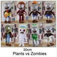 Плюшевые мягкие игрушки зомби из Растения против зомби (Plants vs Zombies)