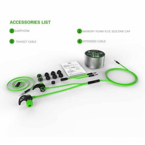 Проводные спортивные стерео наушники-гарнитура с магнитами с функцией шумоподавления PLEXTONE G20