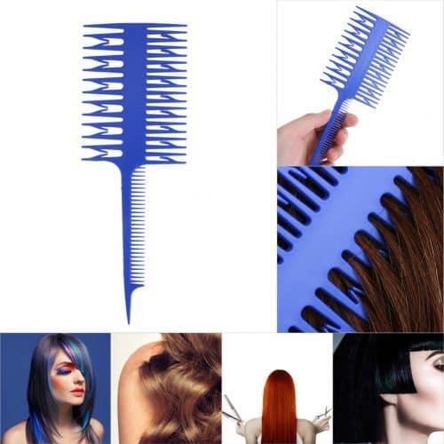 Расческа-заборчик для мелирования окрашивания волос