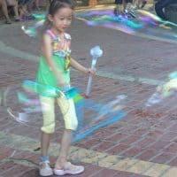 Реквизит меч для шоу мыльных пузырей в наборе