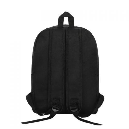 Рюкзак тканевый мужской, женский Day/Night серый/черный 20 л