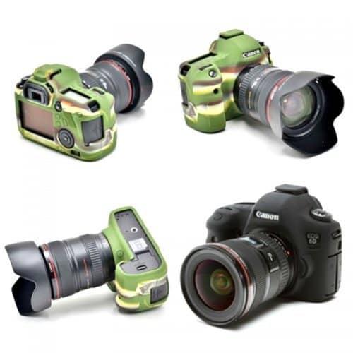 Силиконовые защитные чехлы корпусы для камер Canon 6D
