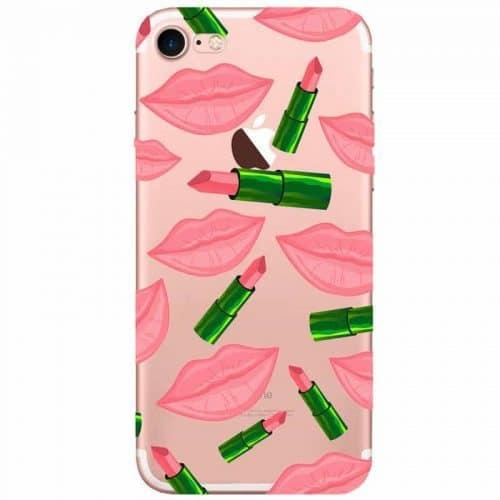 Силиконовый чехол-крышка Kylie с губами для телефона iPhone 7, 7 Plus, 6, 6s plus