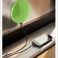 Солнечное зарядное устройство power bank для телефона 1800 мАч