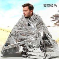 Спасательное энергетическое одеяло из фольги