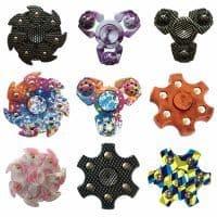 Спиннер hand spinner пальчиковая игрушка-антистресс на подшипнике для рук (много расцветок)