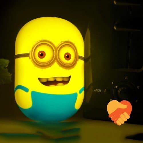 Светодиодный детский ночник-светильник Миньон в спальню