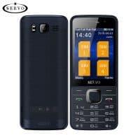 Телефон одноядерный SERVO с поддержкой 4 sim-карт 2.8 дюйма, GPRS, Bluetooth, MP4, русская клавиатура