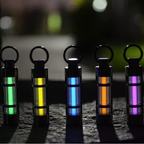 Тритиевый светящийся брелок-фонарик