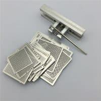 Универсальные трафареты для BGA пайки реболлинга чипов ноутбуков