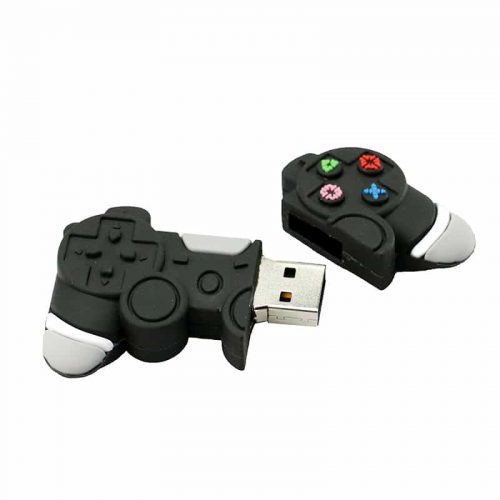 USB флеш-накопитель флэшка в виде геймпада-джойстика от 128 МБ до 128 ГБ