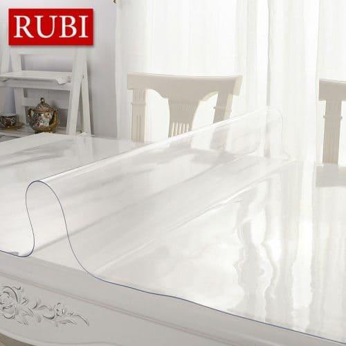 Водонепроницаемая прозрачная пвх пленка-скатерь мягкое стекло на стол