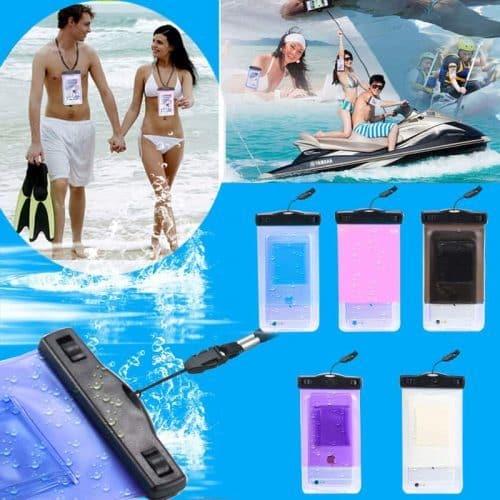 Водонепроницаемый чехол для подводной съемки для Iphone, Samsung (модели 5.5″)