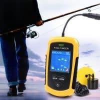 Водонепроницаемый портативный Эхолот Lucky 100 М для рыбалки