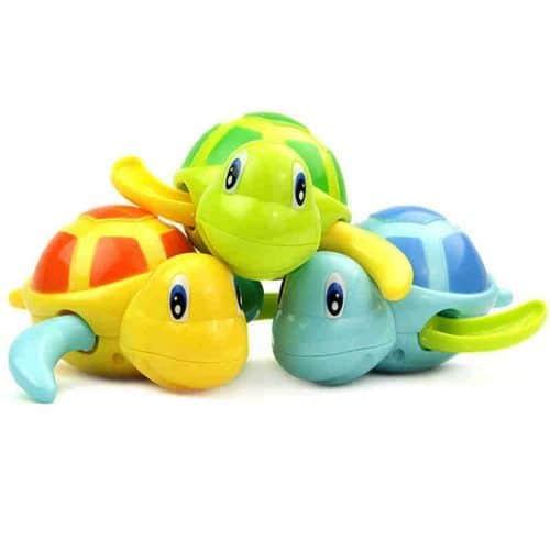 Заводная черепашка игрушка для купания в ванную для детей