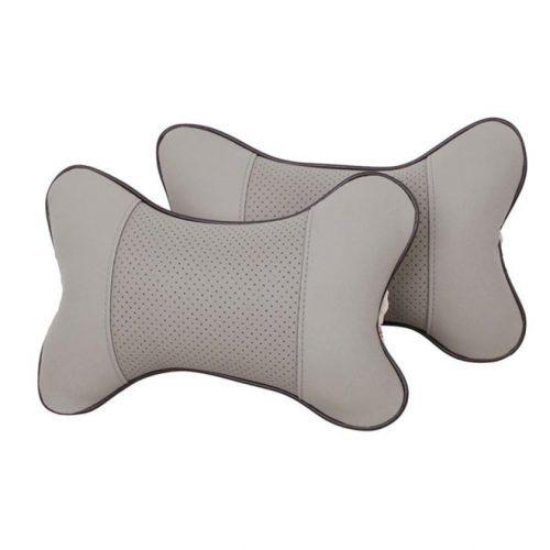 Автомобильная подушка-косточка для шеи на подголовник сиденья