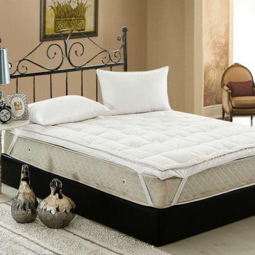 Двухслойный матрас на кровать (утка и гусь)