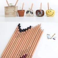 Эко-карандаши с семенами растений для проращивания (в наборе 8 шт.)