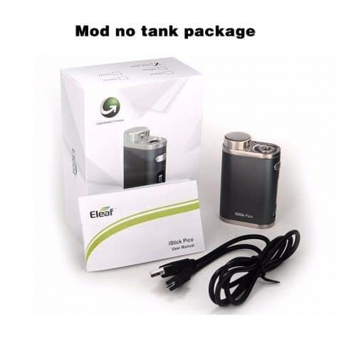 Электронная сигарета 2 / 4 мл, 75 ватт, батарея 18650 (Istick Pico Kit / Istick Pico mod)