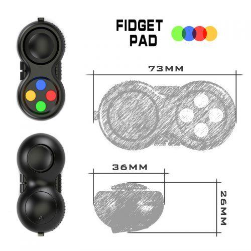 Fidget pad игрушка-антистресс-брелок