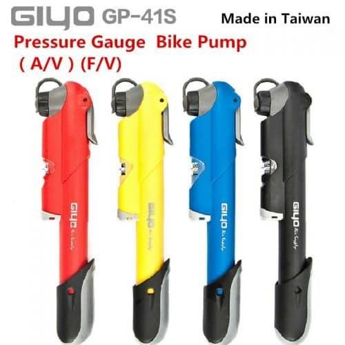GIyO компактный ручной насос для велосипеда AV/FV