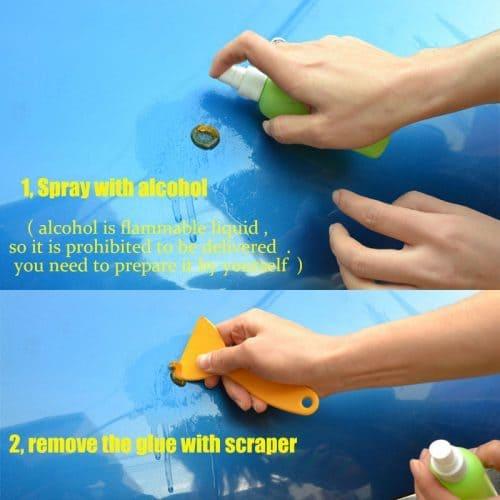 Инструмент для ремонта удаления выпрямления небольших вмятин на кузове автомобиля PDR