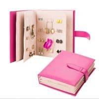 Книга для хранения ювелирных изделий, серег, бижутерии