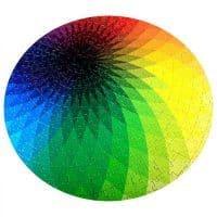Круглый пазл радуга спектр градиент 1000 шт.
