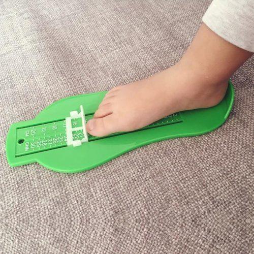 Линейка для измерения детской стопы