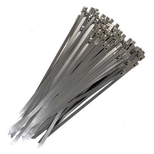 Металлические стяжки хомуты из нержавеющей стали