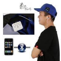 Музыкальная Bluetooth бейсболка кепка