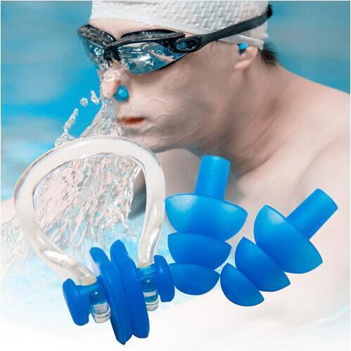 Набор для плавания (зажим для носа и затычки для ушей)