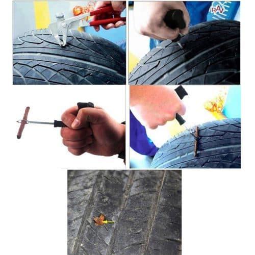 Набор для ремонта прокола бескамерных шин автомобиля