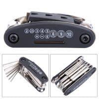 Набор инструментов ключей для ремонта велосипеда 15 в 1