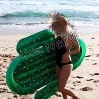 Надувной матрас для плавания в виде кактуса