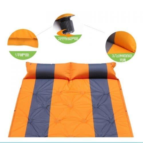 Односпальные и двуспальные надувные матрасы для путешествий в машину