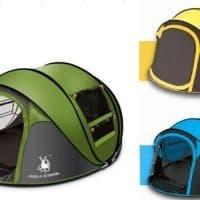 Палатка туристическая 3-4-местная GAZELLE OUTDOORS