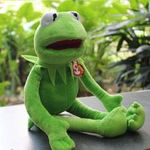 Плюшевая мягкая игрушка лягушонок Кермит из Маппет шоу