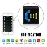 Портативная колонка смарт будильник Divoom Timebox Bluetooth 4.0 FM