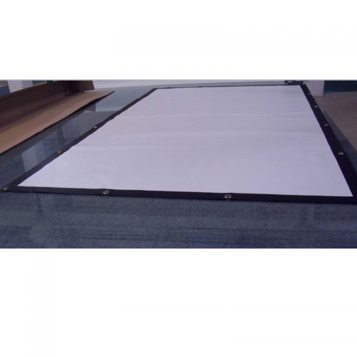 Портативный белый экран для проектора (132 х 75 см)