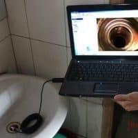 Портативный гибкий водонепроницаемый  USB эндоскоп-камера